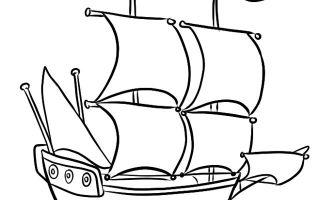 Методы того, как нарисовать пиратский корабль