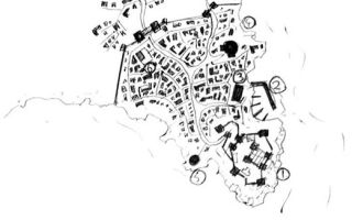Урок о том, как нарисовать город