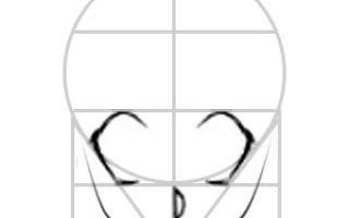 Пошаговый урок о том, как нарисовать аниме парня