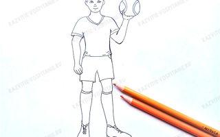 Советы о том, как нарисовать человека в движении