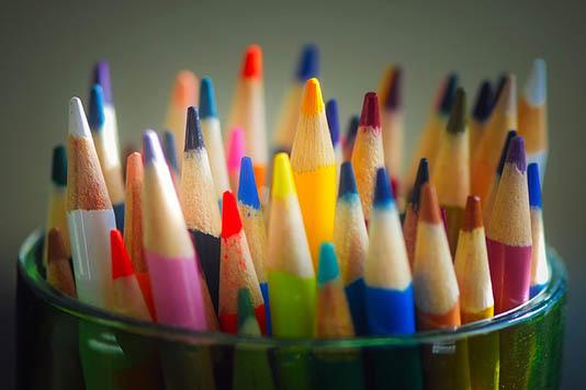Бесплатный курс рисования цветными карандашами