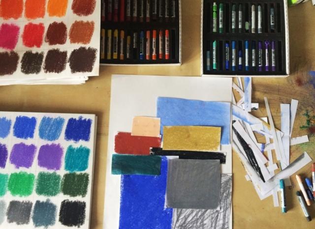 Как рисовать пастелью: сухая пастель
