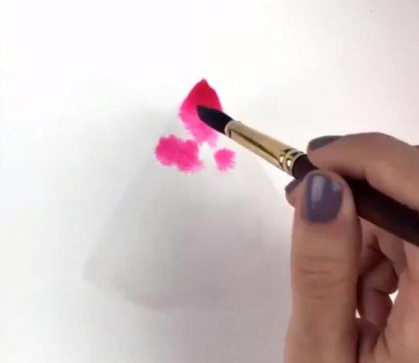 Как нарисовать арбуз акварелью. Пошаговый урок
