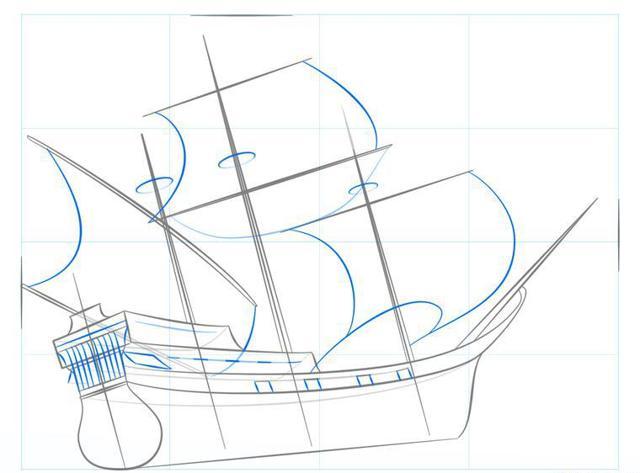 Как нарисовать пиратский корабль