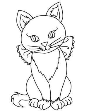 Как нарисовать кошку поэтапно?