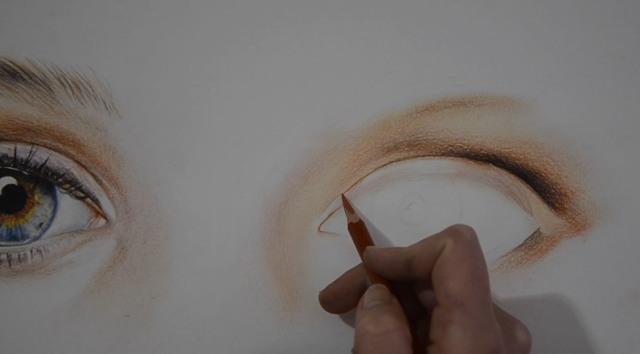Как нарисовать красивый реалистичный глаз карандашом пошагово