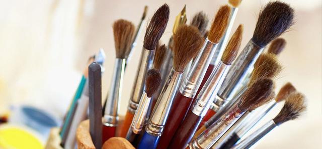 Кисти для живописи: разновидности и свойства