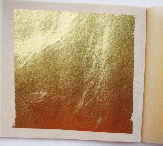 Технология золочения сусальным золотом