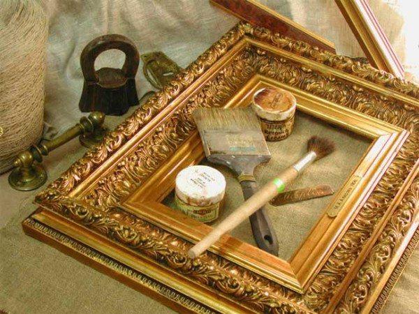 Как сделать багет для картины в домашних условиях?