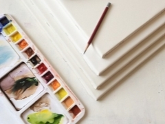 Свойства и виды акварельной бумаги