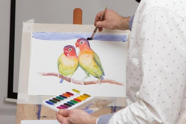 Рисунок и живопись поэтапно (видео, фото)